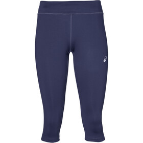 asics Silver Knee Tights Women Indigo Blue
